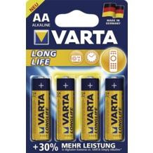 VARTA 4106 Longlife Mignon 4er Blister