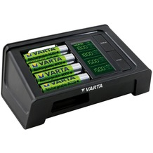 VARTA Akku Ladegerät LCD Smart Charger 57674