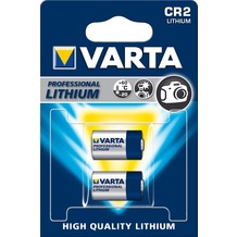 VARTA Batterie Lithium - Photo - CR2 - 3V Professional Electronics - (2-Pack)