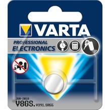 VARTA Batterie Silver Oxide - Knopfzelle - V8GS/391 - 1.6V Professional Electronics - (1-Pack)