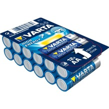 VARTA HIGH ENERGY Batterie AA LR6 Mignon 12er Big Box