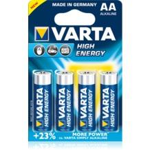 VARTA High Energy Mignon AA Batterie (4 Stück)