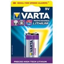 VARTA 1 Varta Professional Lithium 9V-Block 6 LR 61