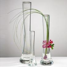 Vase Solifleur 5/3 x 18 cm (Ø x H), X-Form