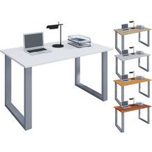 """VCM Schreibtisch Computertisch Arbeitstisch Büro Möbel PC Tisch """"Lona"""" B. 110 x T. 50 cm  Weiß"""