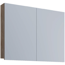 """VCM Spiegelschrank """"VCB 1 - 60 cm"""" Badspiegel Spiegel Badezimmerspiegel Hängespiegel H. 42 x B. 60 x T. 12 cm Sonoma-Eiche"""