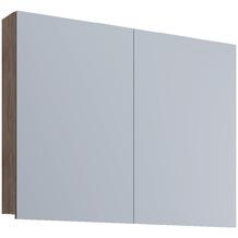 """VCM Spiegelschrank """"VCB 1 - 80 cm"""" Badspiegel Spiegel Badezimmerspiegel Hängespiegel H. 62 x B. 80 x T. 12 cm Sonoma-Eiche"""