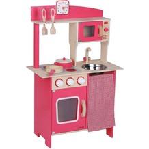 Beeboo Holzküche rot, mit Zubehör