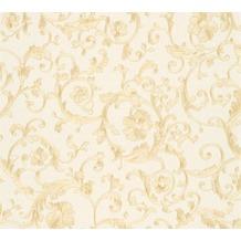Versace florale Mustertapete Butterfly Barocco Vliestapete beige creme metallic 10,05 m x 0,70 m 343261