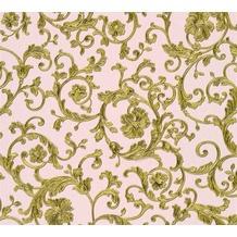 Versace florale Mustertapete Butterfly Barocco Vliestapete grün metallic rosa 343264