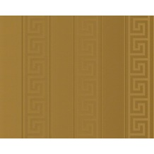 Versace grafische Mustertapete Greek, Tapete, metallic 935242