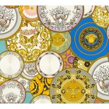 Versace Mustertapete Les Etoiles de la Mer 2 Vliestapete bunt metallic 10,05 m x 0,70 m
