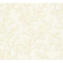 Versace Mustertapete Les Etoiles de la Mer Vliestapete beige creme metallic 10,05 m x 0,70 m