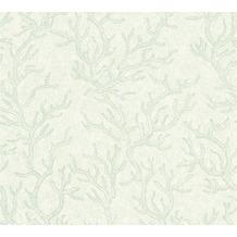 Versace Mustertapete Les Etoiles de la Mer Vliestapete grün metallic 10,05 m x 0,70 m 344973