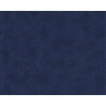 Versace Uni-, Strukturtapete Barocco and Stripes, Tapete, blau