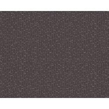 Versace Uni-, Strukturtapete Greek, Tapete, grau, metallic, schwarz