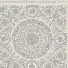 Versace Vliestapete Heritage metallic grau 10,05 m x 0,70 m