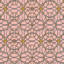 Versace Vliestapete La Scala del Palazzo metallic rosa 10,05 m x 0,70 m 370496
