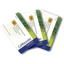 Vidicode CryptoCard Satz mit 3 Karten für Call Recorder