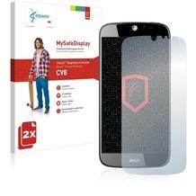 Vikuiti 2x MySafeDisplay Displayschutzfolie CV8 von 3M für Acer Liquid Jade Plus
