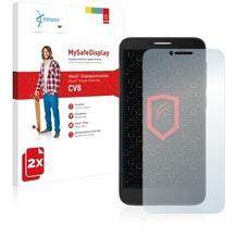 Vikuiti 2x MySafeDisplay Displayschutzfolie CV8 von 3M für Alcatel One Touch Idol 2