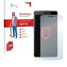 Vikuiti 3x MySafeDisplay Displayschutzfolie DQCT130 von 3M für Archos 52 Platinum