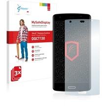 Vikuiti 3x MySafeDisplay Displayschutzfolie DQCT130 von 3M für Bluboo X6