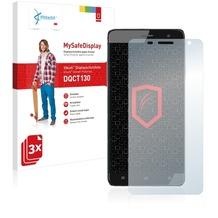 Vikuiti 3x MySafeDisplay Displayschutzfolie DQCT130 von 3M für Cubot H1