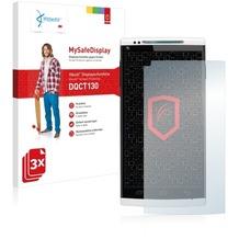 Vikuiti 3x MySafeDisplay Displayschutzfolie DQCT130 von 3M für Cubot X6