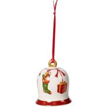 Villeroy & Boch Annual Christmas Edition Glocke 2019 bunt,rot