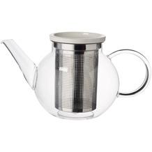 Villeroy & Boch Artesano Hot Beverages Teekanne Größe M mit Sieb klar,weiß