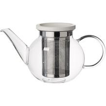 Villeroy & Boch Artesano Hot Beverages Teekanne Größe S mit Sieb klar,weiß