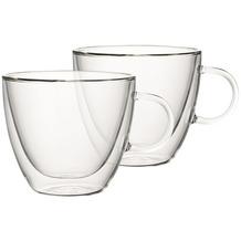 Villeroy & Boch Artesano Hot&Cold Beverages Tasse Größe L Set 2 tlg. klar