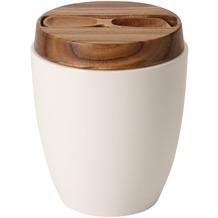 Villeroy & Boch Artesano Original Teedose mit Deckel und Löffel weiß