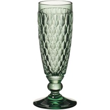 Villeroy & Boch Boston coloured Sektglas green grün