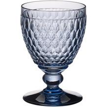 Villeroy & Boch Boston coloured Wasserglas blue blau