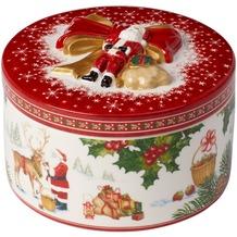 Villeroy & Boch Christmas Toys Geschenkpaket mittel rund Santas Rentier