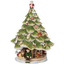 Villeroy & Boch Christmas Toys Memory Großer Tannenbaum mit Kindern grün