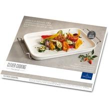 Villeroy & Boch Clever Cooking Servierplatte mit Gestell