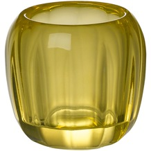 Villeroy & Boch Coloured DeLight Teelichthalter klein Lemon Pie gelb