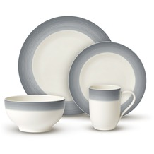 Villeroy & Boch Colourful Life Cosy Grey Set For Me & You grau