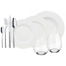 Villeroy & Boch Flow Wonderful World White 8 Friends Set  72teilig