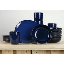 Villeroy & Boch Lave bleu Frühstücksservice für 6 Personen 18-teilig