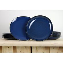 Villeroy & Boch Lave bleu Tafelservice für 6 Personen 12-teilig