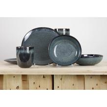 Villeroy & Boch Lave gris Frühstücksservice für 2 Personen 6-teilig