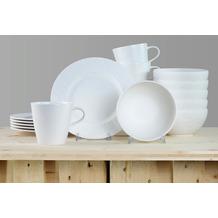 Villeroy & Boch Manufacture Rock blanc Frühstücksservice für 6 Personen 18-teilig