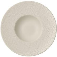 Villeroy & Boch Manufacture Rock blanc Pastateller weiß