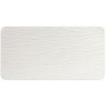 Villeroy & Boch Manufacture Rock blanc Servierplatte rechteckig weiß