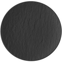 Villeroy & Boch Manufacture Rock Brotteller schwarz,grau