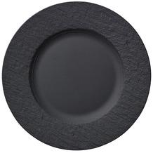 Villeroy & Boch Manufacture Rock Frühstücksteller schwarz,grau